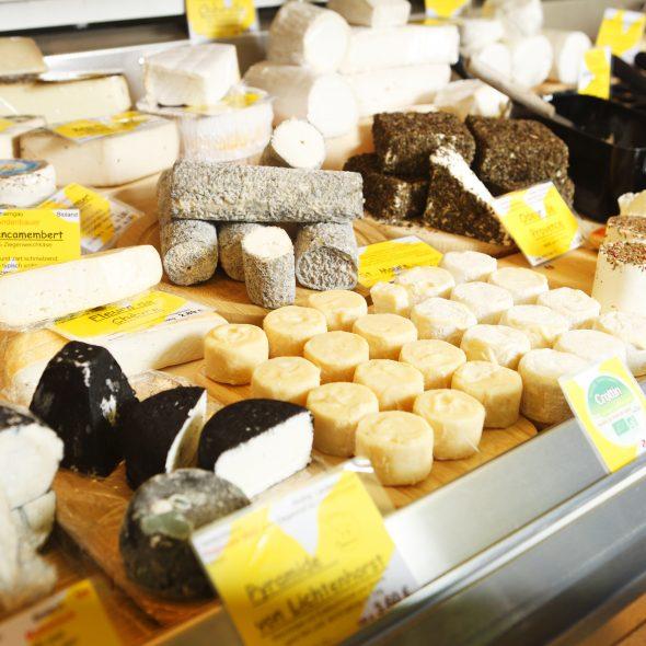 Nußbaum Bio-Käse Wochenmarkt